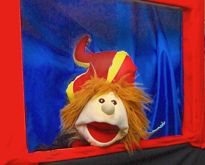 Pepi from Santa's Wonderland At Doneraile Puppet Show
